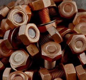 Copper Heavy Hex Bolts