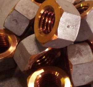 Copper Heavy Hex Nuts