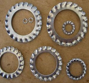 Grade 12.9 Stainless Steel Star Washers