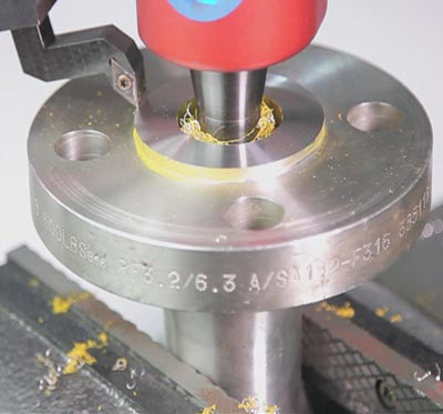 tongue and groove flange use for joint