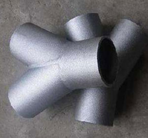 3 Inch, SCH40, ANSI B16.9, Seamless 45 degree Lateral Tee