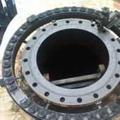 Raised Face Weld Neck Flange For Lower Pressure Applications