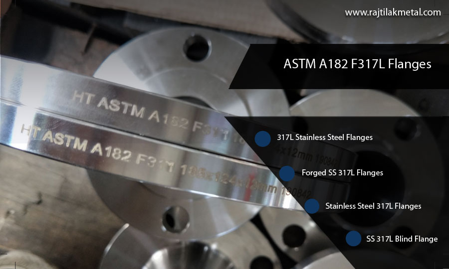 ASTM A182 F317L Flanges
