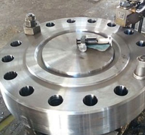 ASTM A182 Gr F316 High hub Blind Flange