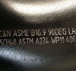 ASTM A234 Gr.WP11 Cl.1 90° Elbow