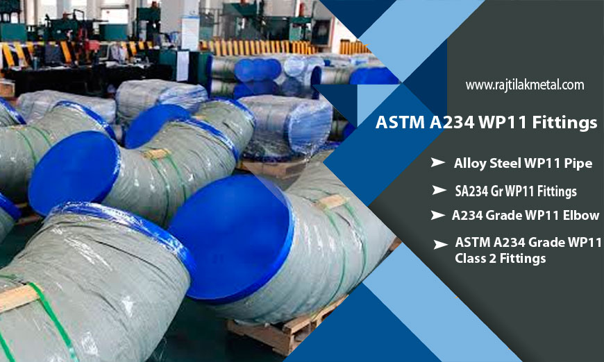 High Alloy Steel ASTM A234 WP11 Fittings