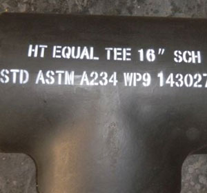 ASTM A234 WP9 Equal Tee