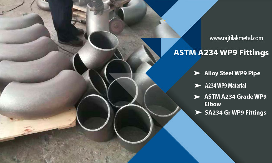 Chromoly ASTM A234 WP9 Fittings