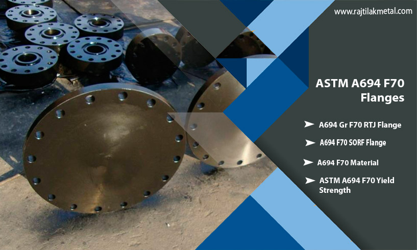 ASTM A694 F70 Flanges