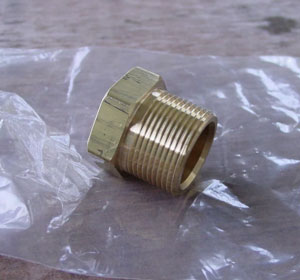 Brass Threaded Plug