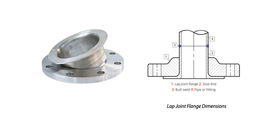 Lap Joint Flange Dimensions In MM
