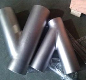 Sch 40, Size 250 X 80 mm, 45 Degree Lateral Pipe Fittings