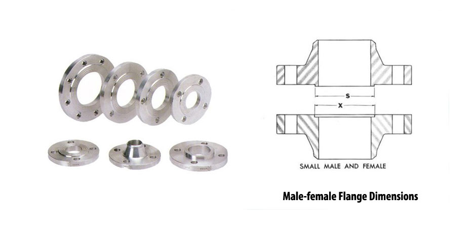 Male-female Flange Dimensions