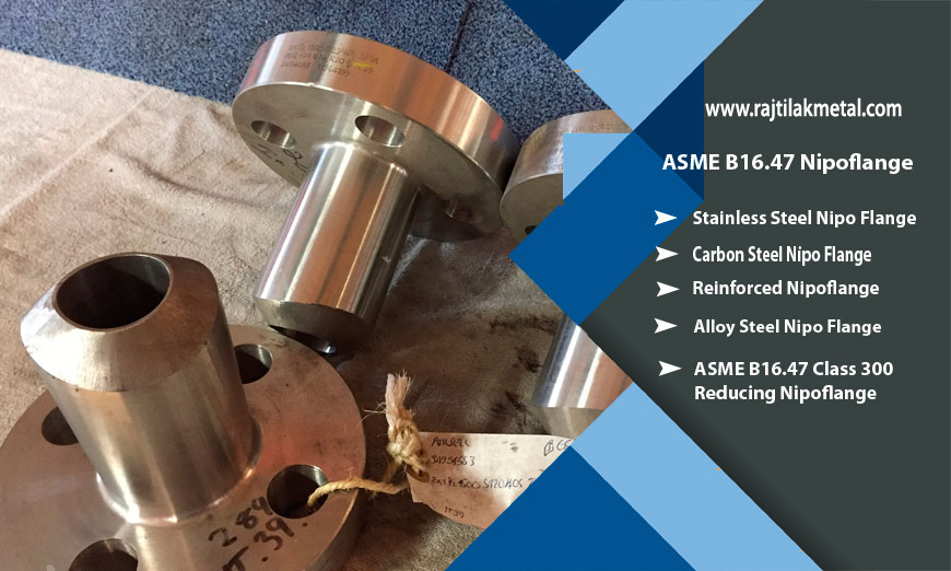 ASME B16.47 Nipoflange Manufacturer in India