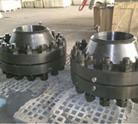 Stainless Steel ASME B16.36 Class 300 Threaded Orifice Flange