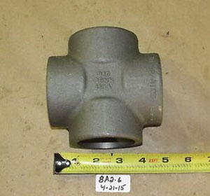 ASTM A694 F60 Steel Forged Socket Weld Cross
