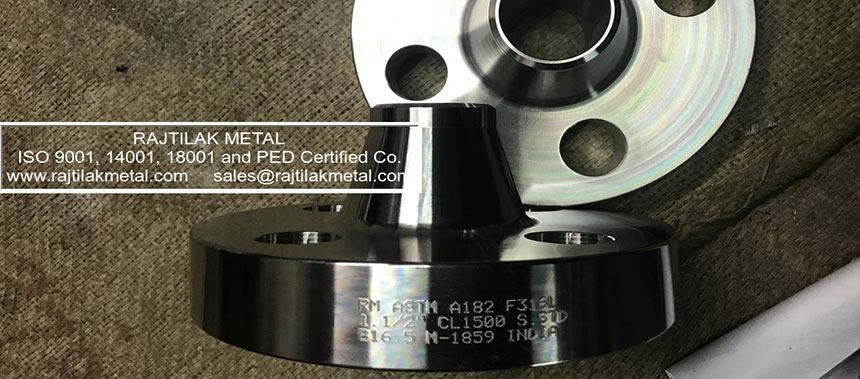 ASME B16.5 Stainless Steel 316L A182 Flanges Manufacturer