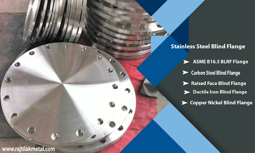 ASME B16.5 Stainless Steel Blind Flange Manufacturer in India
