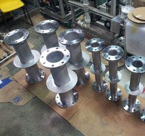 ASME B16.5 Stainless Steel Puddle Flange Manufacturer In India