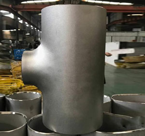Super Austenitic Stainless Steel Reducing Tee