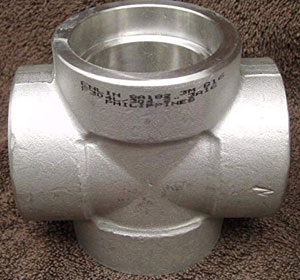 Stainless Steel Socket Weld Cross