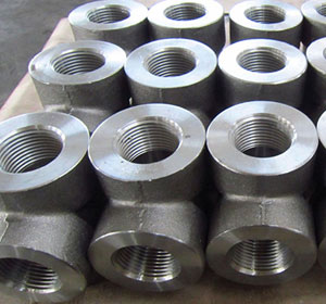 Stainless Steel Threaded Reducing Tee