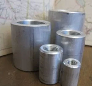 4 Inch, CL9000, ASME B16.11, Duplex Steel Threaded Full Couplings