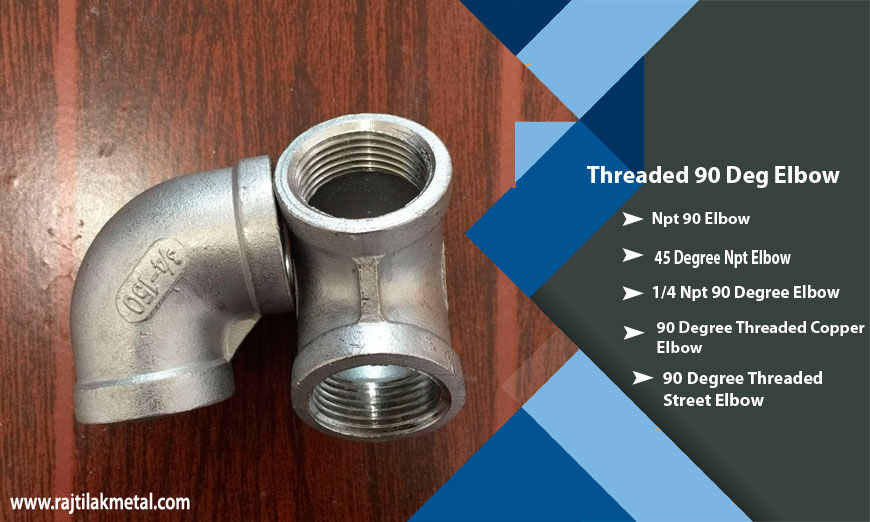 ASME B16.11 Threaded 90 Deg Elbow