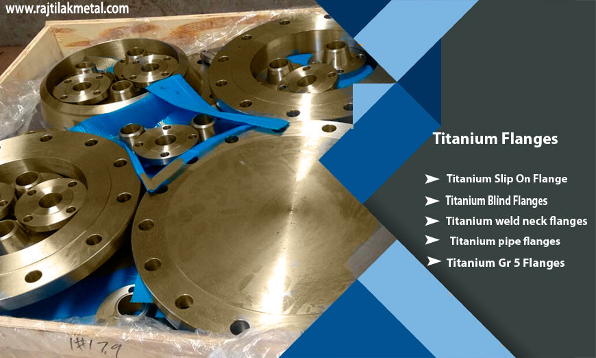 Titanium flanges manufacturers in India