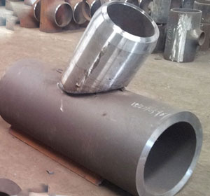 ASME B16.9, Sch 20, 1 Inch, BW, 45 Degree Lateral Tees